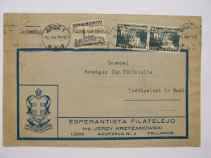 3. ESPERANTISTA FILATELEJO, 1938j