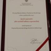 Esperanto na liście niematerialnego dziedzictwa kulturowego Polski